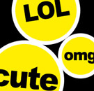 Buzzfeed LOL OMG CUTE tags