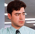 Looks like somebody's got a case of the Mondays. (Office Space)