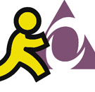 AOL chatroom logo