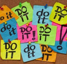 Do It post-it notes