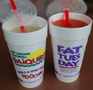 New Orleans daiquiris for Fat Tuesday