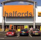 Halfords storefront