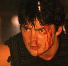Karl Urban as a sexy male demon
