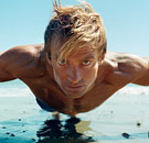 Laird Hamilton doing a pushup