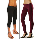 Leggings on two women