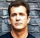 Mel Gibson serious face