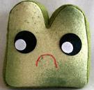 Moldy bread face