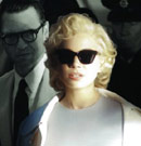My Week with Marilyn in sunglasses