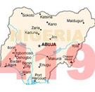 419 Nigeria country map