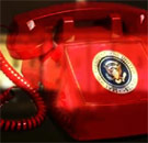 Red telephone in White House