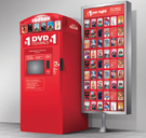 Redbox rental vending machine