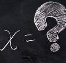 X equals ?