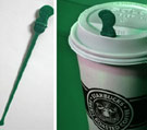 Starbucks splash stick