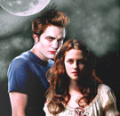 Edward and Bella under the moon