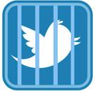 Twitter jail icon