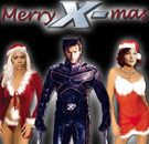 Merry X-Mas from Wolverine of X-Men!
