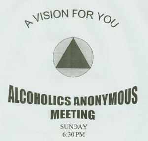 alcohol anonymous paper