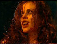 Anna Paquin in Trick 'r Treat as a werewolf