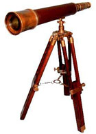 Antique telescope