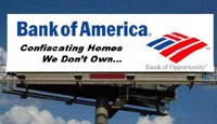 Bank of America billboard