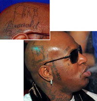 lil wayne satanic tattoos pictures to pin on pinterest