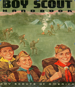 Retro Boy Scouts of America logo