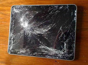 Broken iPad screen
