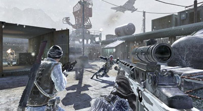 Call of Duty Black Ops screenshot in the open field