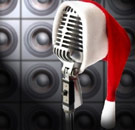 Christmas song microphone