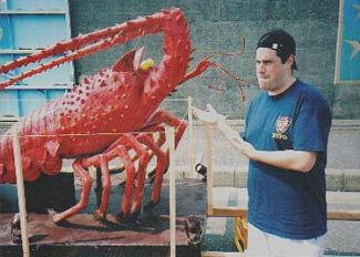 David Nelson and Lobster