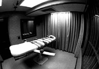 Death penalty bed for lethal injection