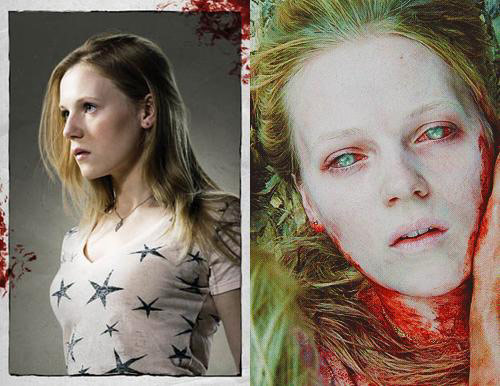 Emma Bell in The Walking Dead