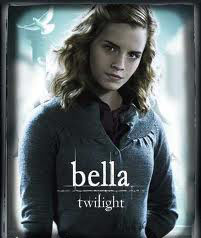 Emma Watson in Twilight movie poster