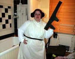Fat Star Wars lady