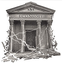 American economic collapse