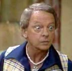 Mr. Furley (Don Knotts) from Three is Company Too TV show