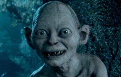 Gollum from The Hobbit movie