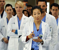 Grey's Anatomy cast without a black person