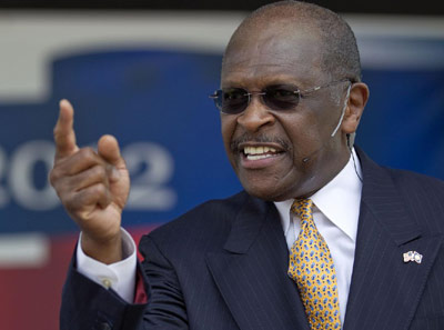 Herman Cain - Republican presidential nominee