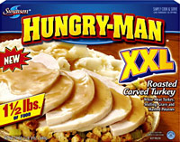 Hungry-Man TV dinner