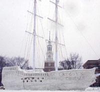Ice pirate ship