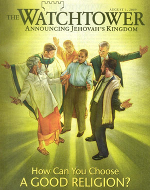 Jehovah's Witness Watchtower magazine