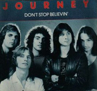 Don't Stop Believin' song album cover