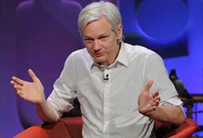 Julian Assange on TV talk show
