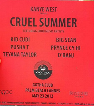 Kanye West - Cruel Summer short film