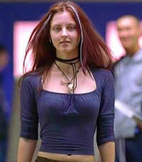 Katharine Isabelle in Ginger Snaps movie