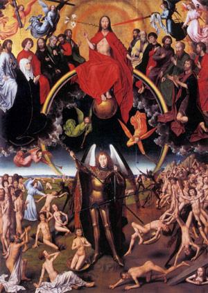 The Last Judgment Trip to Purgatory painting