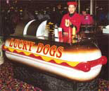 Lucky Dog Hot Dog Stand in New Orleans