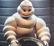 Marshmallow Man for Michelin