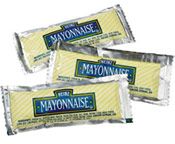 Heinz mayonnaise packets